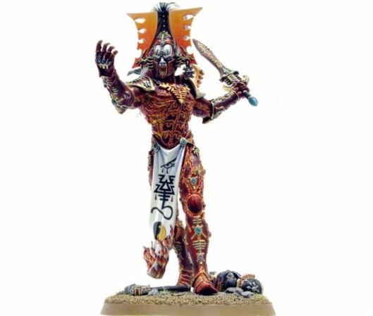 Primer jedne Warhammer figure