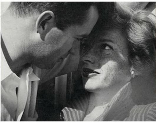 Jack & Cameron Parsons, slika sa venčanja, 1947.