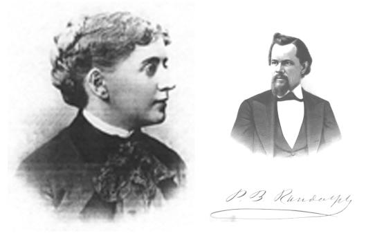 Desno: Ida Craddock; levo; Pascale Beverly Randolph