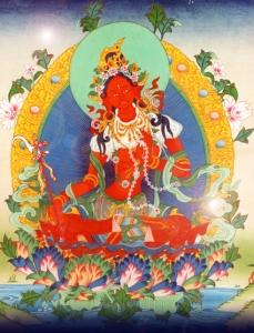 Tradicionalni prikaz tibetanske Crvene Tare