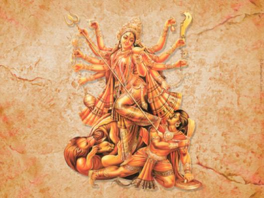 Durga ubija mahisu