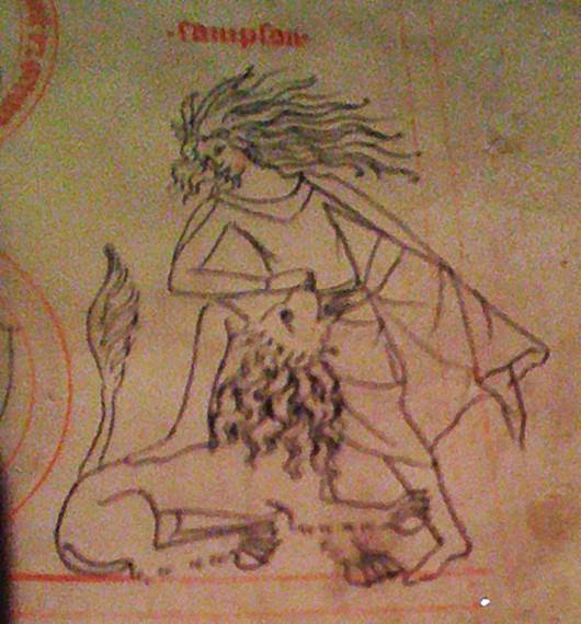 Samson; Biblija, tarot karta Snaga